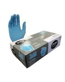 Nitrile Glove Blue Large Dura Plus 100/box