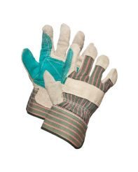 Glove, Double Palm Rigger/Blue Patch
