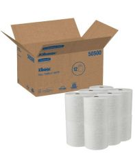 Towel White KC Kleenex 12 rolls x 425'