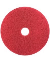 "Floor Pad 12"" red cs of 5"