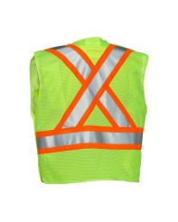 Vest 5 Point Tear-Away Mesh Premium Lime L/XL