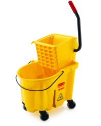 Bucket Combo,35qt, sidepress, yellow