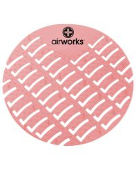 Urinal Screen air Works 1/ea Strawberry