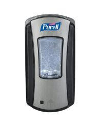 Dispenser, Purell LTX Brushed Chrome/Black