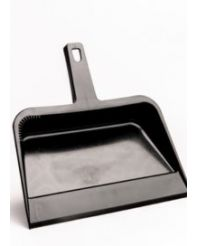 Dust Pan heavy duty plastic 12""