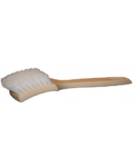 Brush Tire White Wall Nylon Bristles