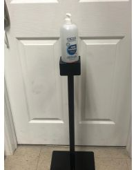 Stand, with 4 X 1L Gel Hand Sanitizer (final sale)