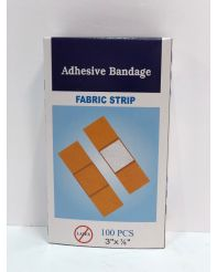 "Bandage Strips-3""x 7/8"" 100/box-03026"