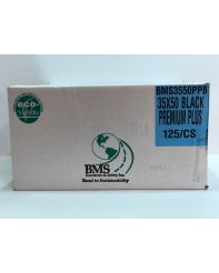 Polybag 35X50 Black X-Strong 100/cs