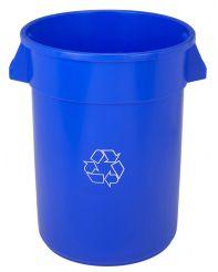 Waste Cont.32g Huskee Round Blue
