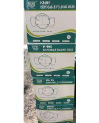 Mask Disposable Med/LG KN95 20/ box