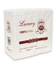 Napkin Dinner Luxury Brand 1ply 12 x 250/cs