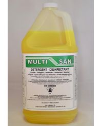 Multi-San Disinfectant 4L ***Covid Approved***