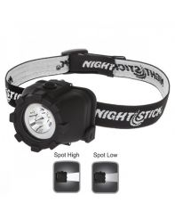 Nightstick, Headlight, Single Band, 120/70 Lumens, Battery