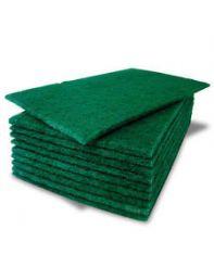 Pad, Scrub green 6x9 10 per pack