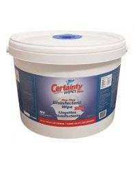 Wipes, Certainty dispensing bucket 800/pail