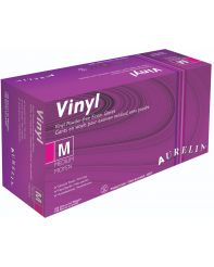 Glove Vinyl powder free Small 100/box